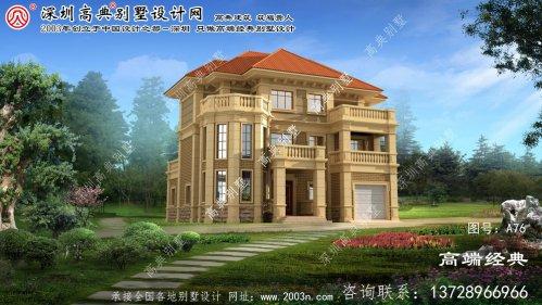 泉山区法式三层别墅设计