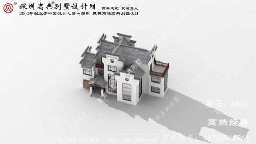 岳西县中式独栋别墅外观