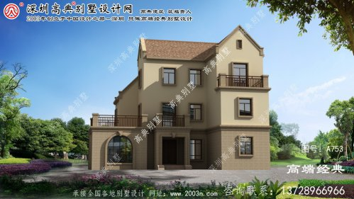 黄山区别墅设计图纸农村