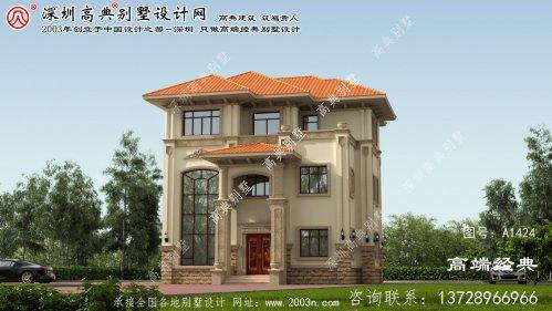 宣化县农村自建房别墅设计图纸大