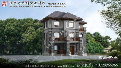 通榆县中式别墅设计图