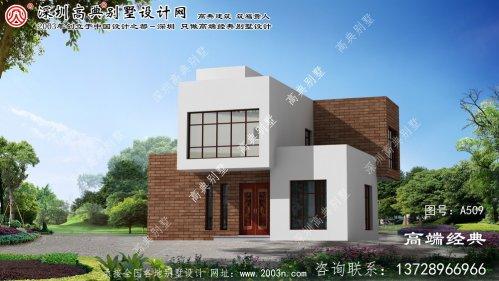 东宁县农村长方形房子设计图