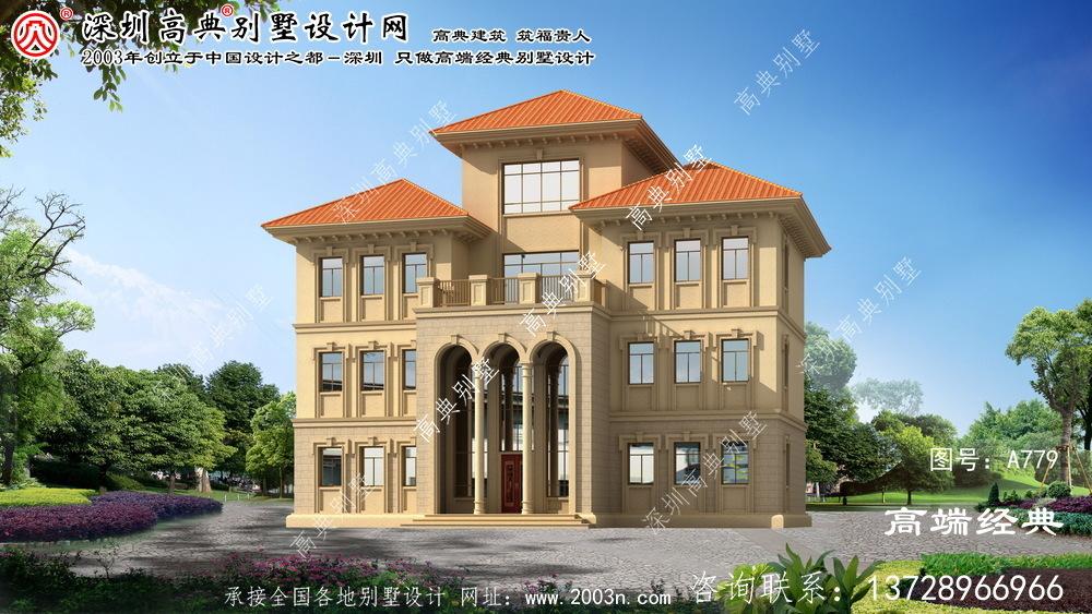 淇县设计别墅图