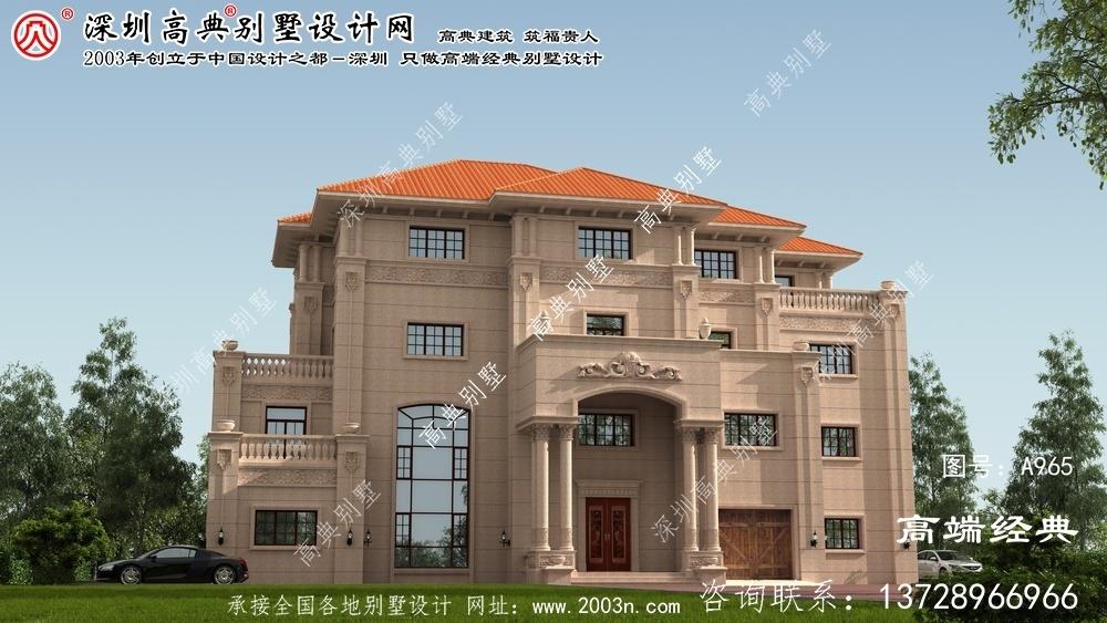 阳新县普通别墅设计图纸