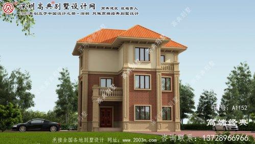 湘潭市农村别墅图纸