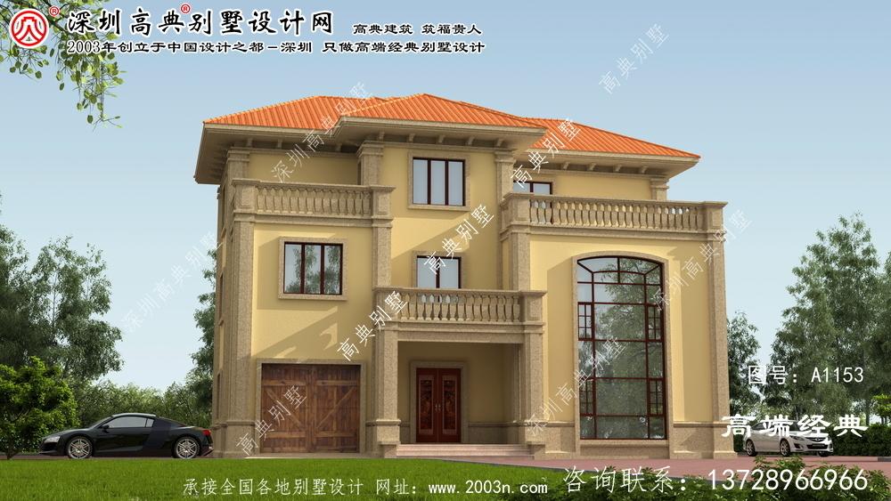湘乡市实用别墅图纸