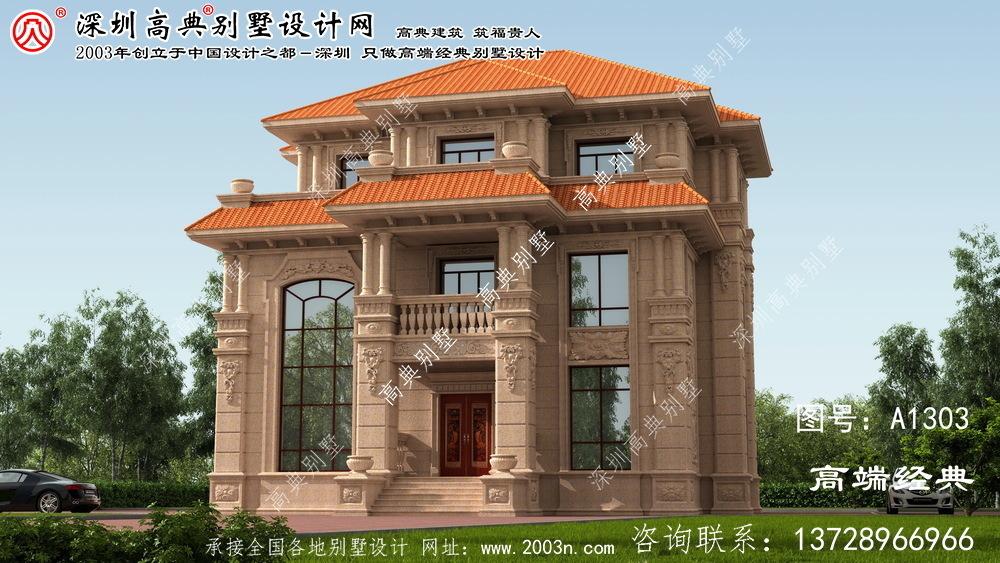 白云区大型别墅设计图