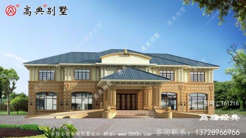 会理县农村别墅外形设计