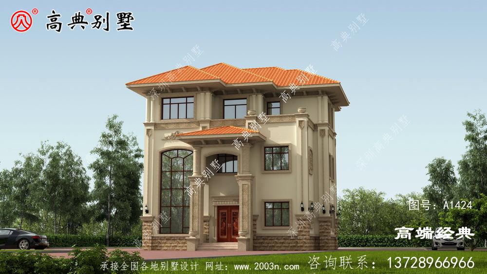 比如县农村实用别墅图