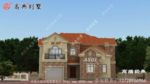 二层农村经济型别墅设计功能大不相同,来看看
