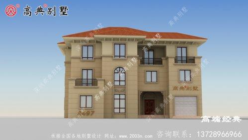 农村三层简单别墅怎么建的体面成