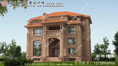 澧县高雅的简欧风格别墅设计图纸