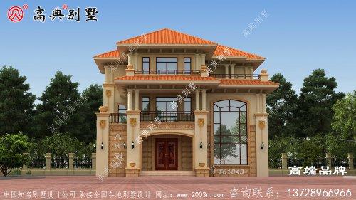 最新三层别墅设计图丝毫不比城里