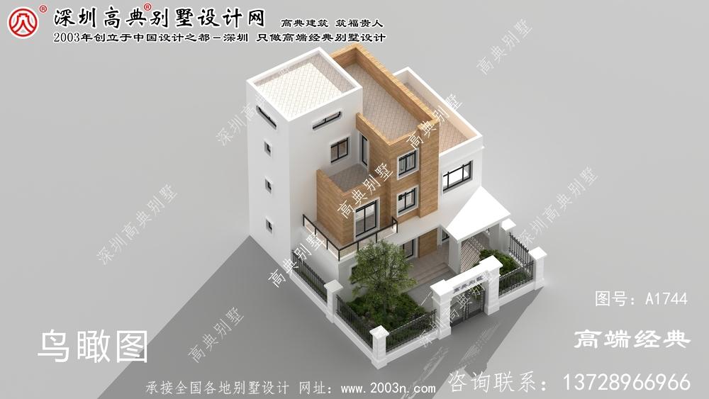 乌什县现代风格的庭院别墅,大气又实用。