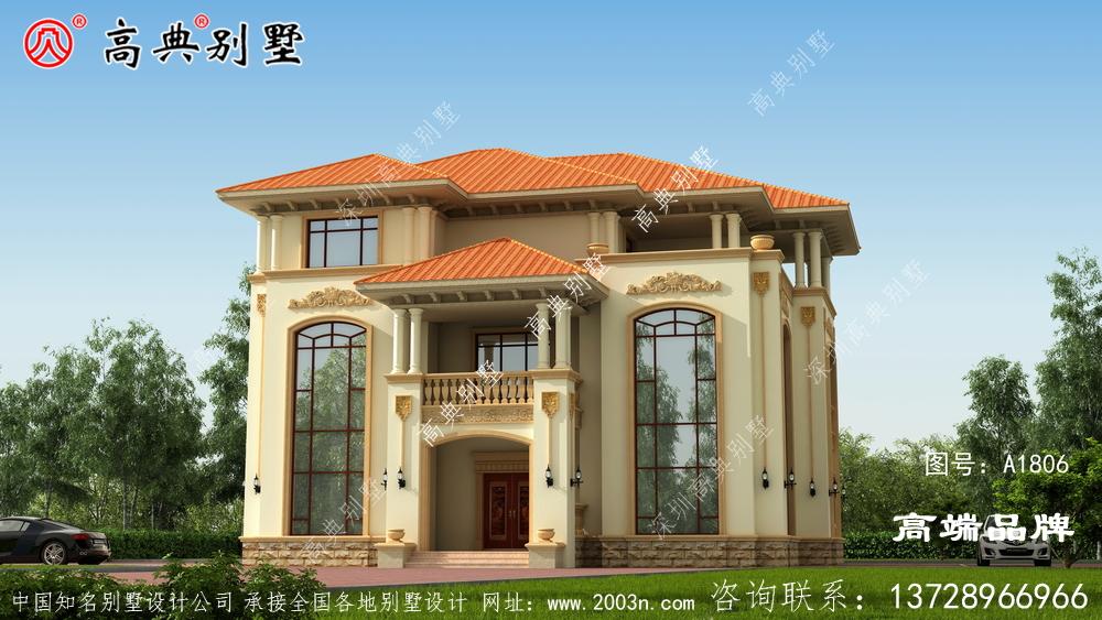 新农村建房设计图南北通透,非常合理