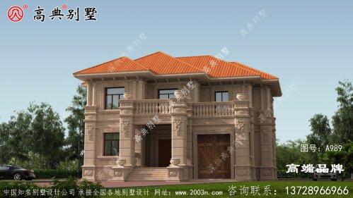 选到一款出色的别墅户型,你家房子也会是村里