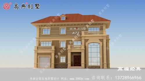 芜湖市乡下三层房屋图片,绝对的一眼惊艳到你