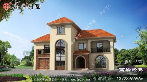邳州市经济实用型农村三层小楼图,值得建造!