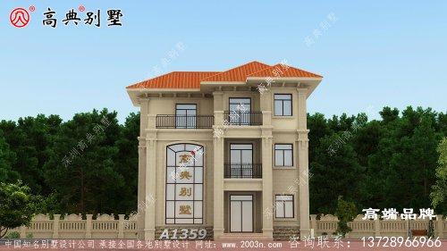 新型农村房子设计图把每寸空间都发挥到极致