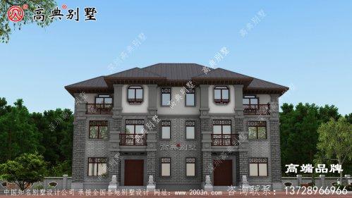 别墅造型外观图从内由外透着豪华