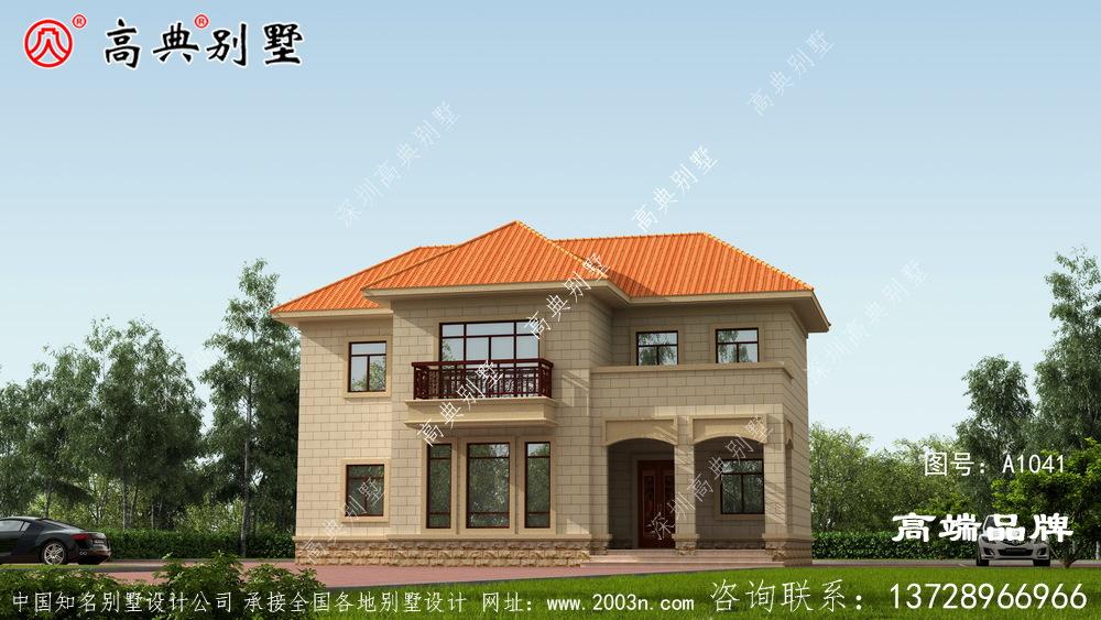 农村房屋设计图大全好房子让人看不厌!