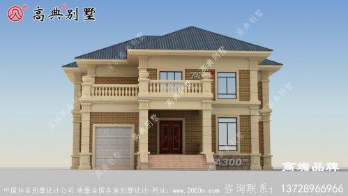 246平方米农村房屋设计图提升别墅