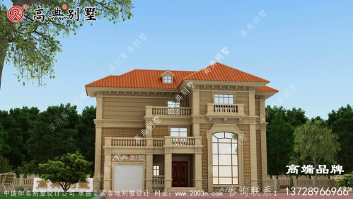 最新农村建房子设计图门亭设计精致
