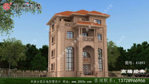 符合现代人生活的需求的别墅,提高生活品质。