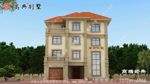 大户型四层别墅非常适合一家子温馨入住