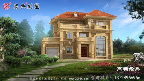 欧式风格的别墅,向来颇受欢迎