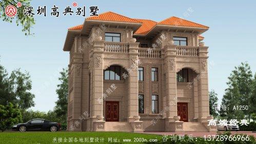 三层欧式别墅,好看又实用,建了