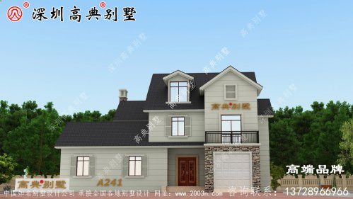 现代风别墅设计图,精美实用,造