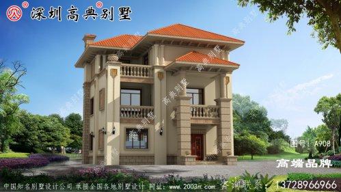 三层别墅 ,大气 美观 ,方正 实用 ,喜欢 !