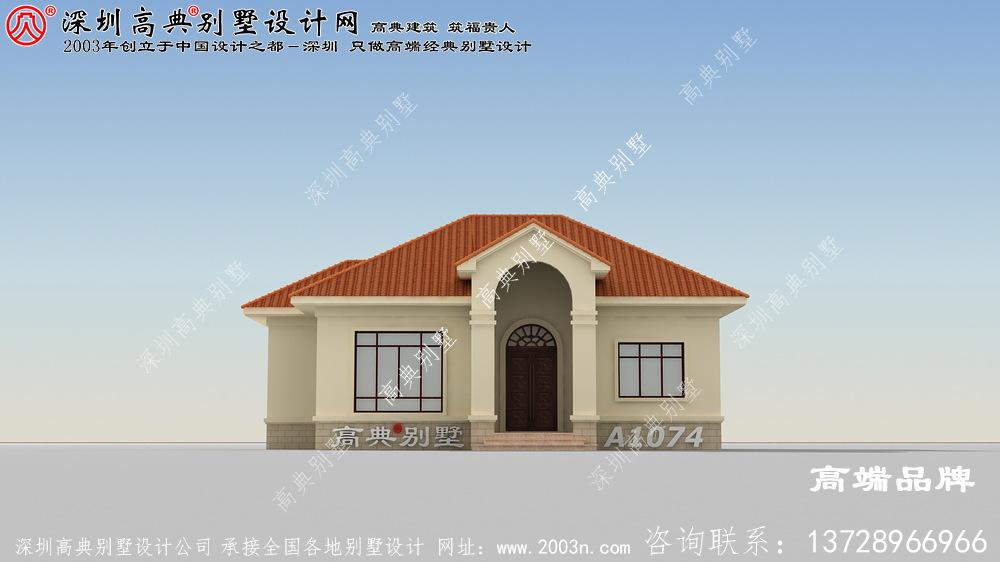 实用农村一层房子图片,养老也可以,经济实惠