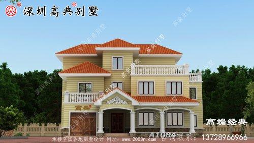 三层小洋楼别墅图片,真正值得建的好房子
