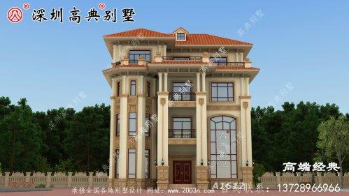 最新欧式别墅设计图,这配色简直不要太美