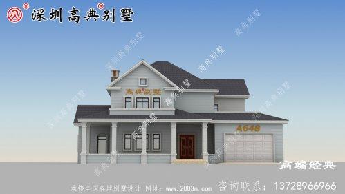 在农村20万可以建一座别墅,美观实用又经济!