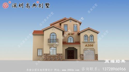 农村二楼半自营住宅照片,户型合理实用,适合