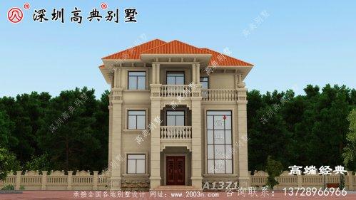 简约大气的三层别墅设计图,看完