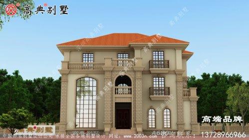 简约又气派的别墅这样建做村里的一流住宅