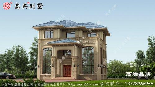 双复式三层户型别墅对人口增加的家庭有更多的
