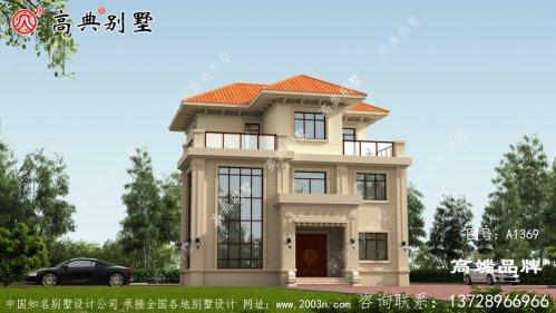现在农村的自营住宅非常受欢迎 ,特别是简欧风格