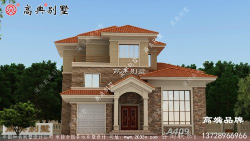 屋顶设计虎窗灵活时尚,是别墅整