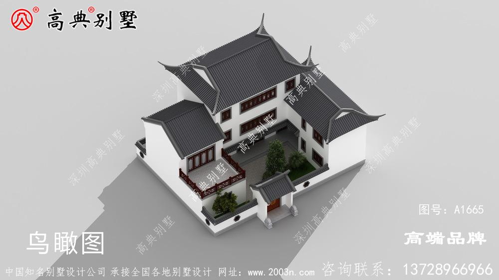看了太多欧式别墅,还是觉得中式别墅最好看