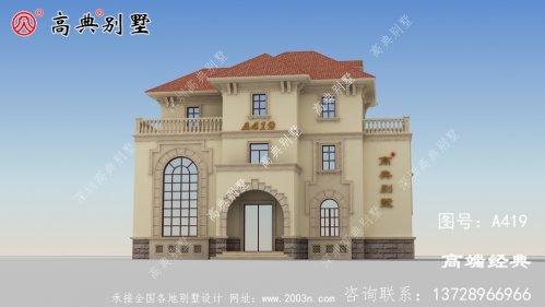 少了复式落地窗和露台怎么能算的上是别墅呢?