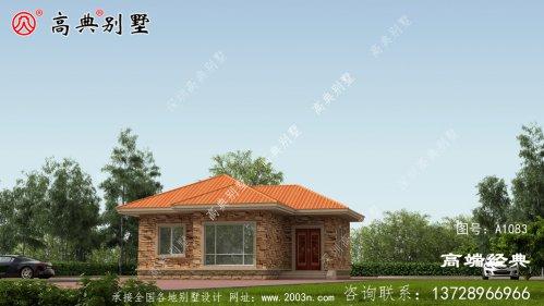 欧式自建房设计图,户型美观,空间布局合理。
