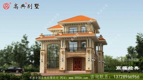 乡村自建房风格可谓丰富多彩,栋栋精致