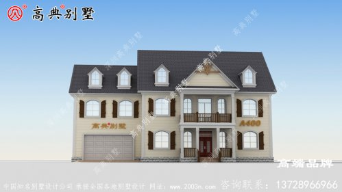 乡村两层自建别墅设计图,耐看又实用,建房首选